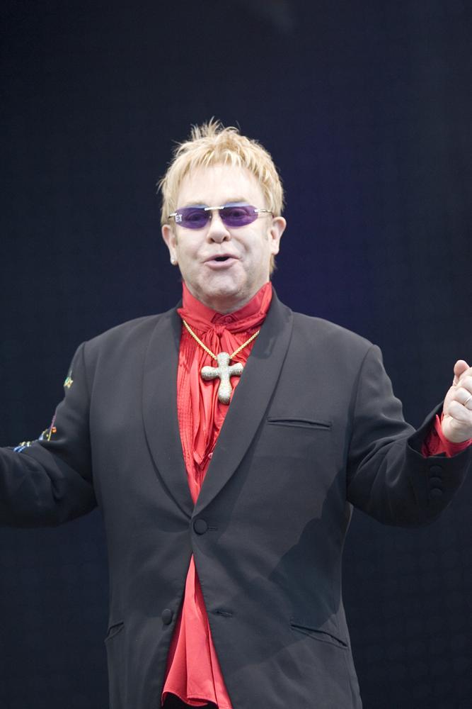 ...Sir Elton John, too!