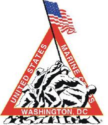 English: Marine Corps Marathon logo - from off...