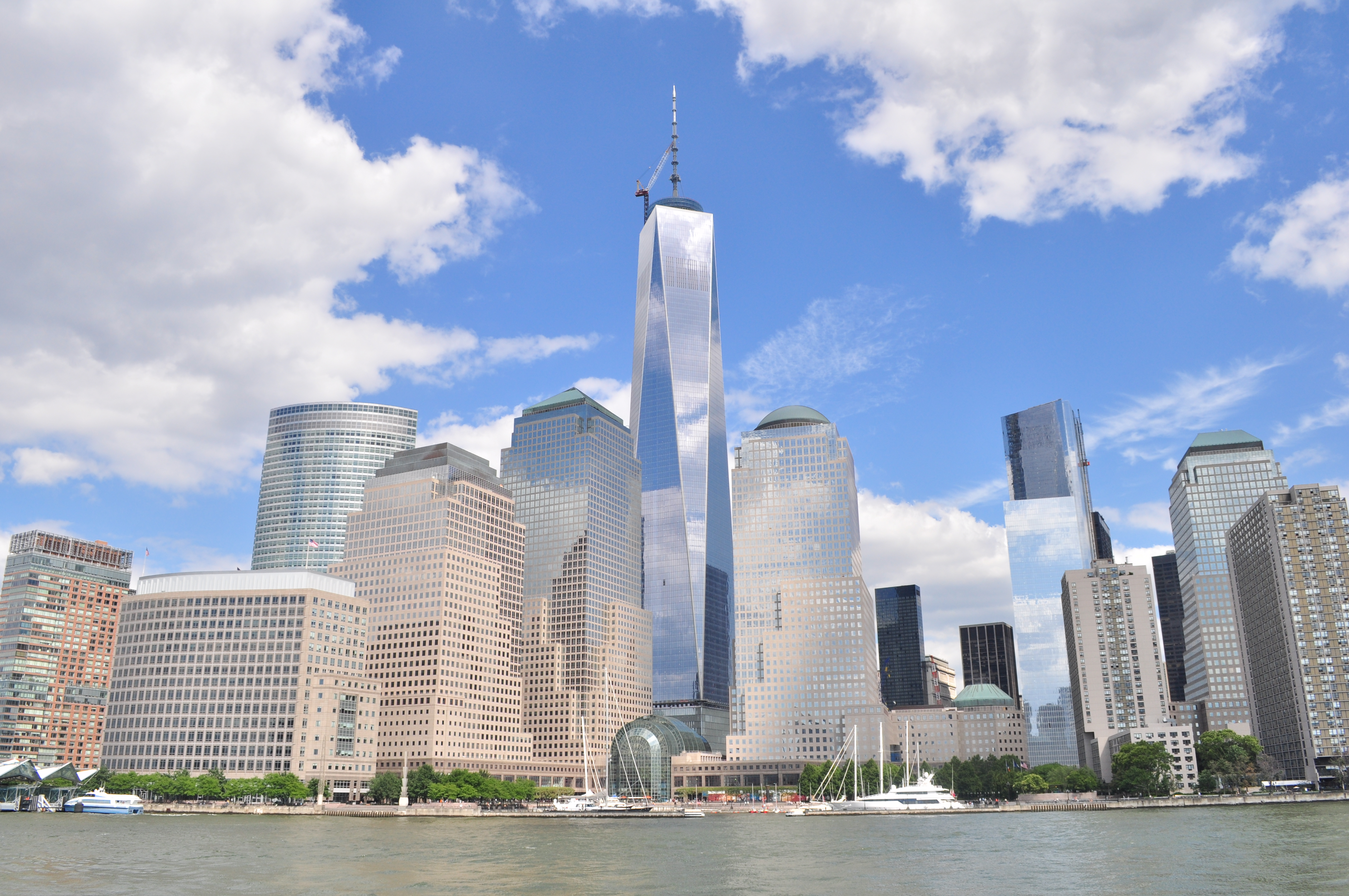 New World Trade Center in new york city.
