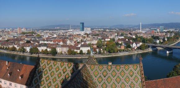 Basel New City Landscape