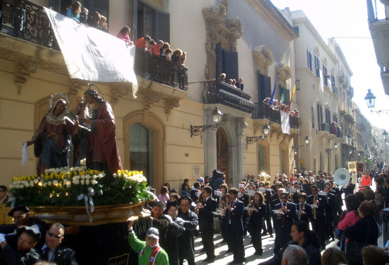 Procession of the Mysteries in Trapani