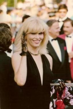 Français : Amanda Lear au festival de Cannes 1990