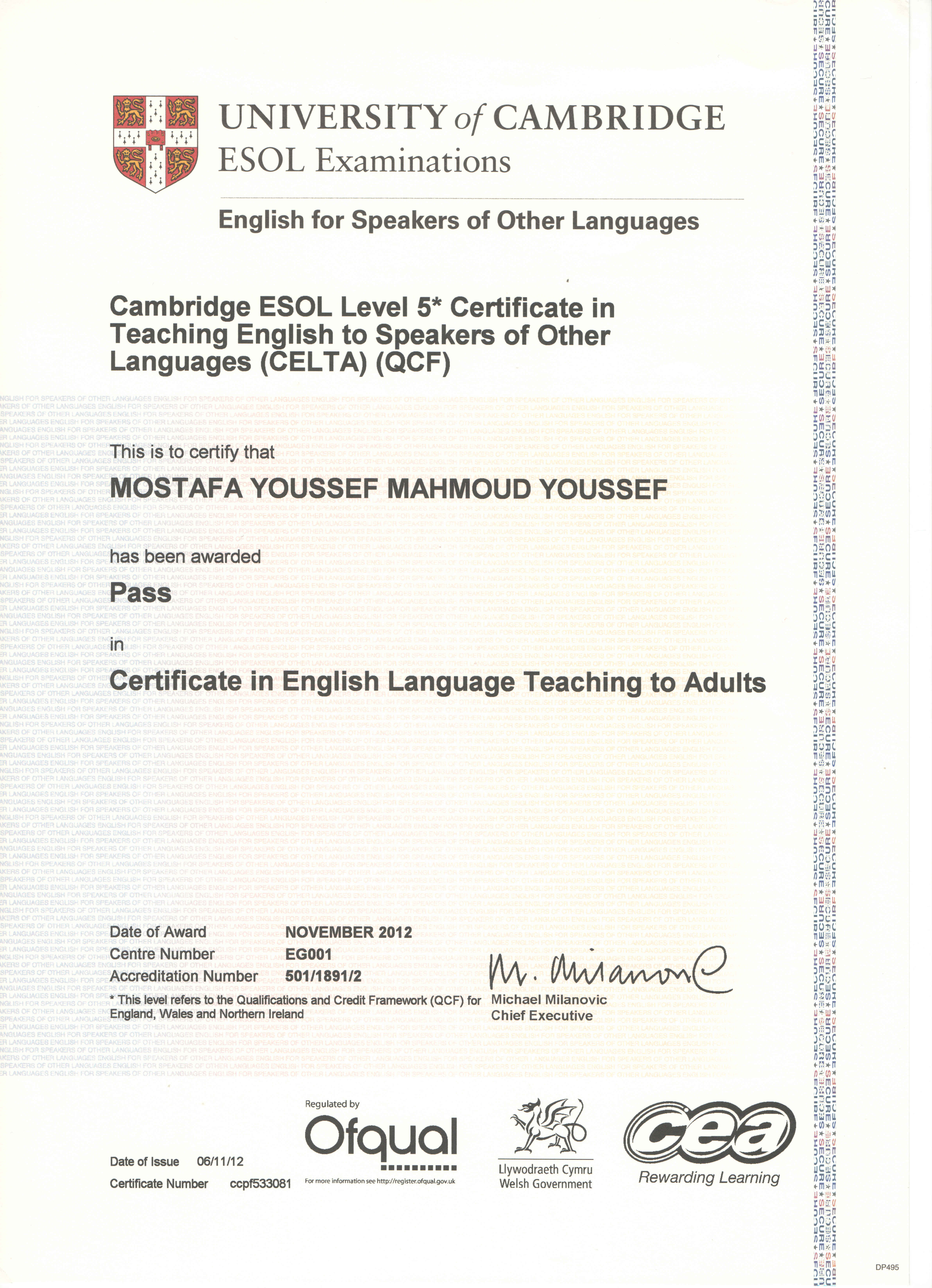 85 Free Download Esol English Test Level 3 Doc