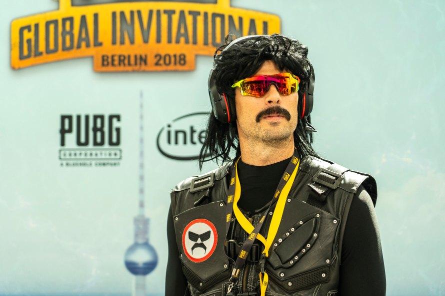 Dr DisRespect au PUBG PGI de Berlin