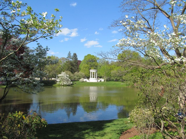 Halcyon Lake, Mount Auburn Cemetery, Watertown, Massachusetts
