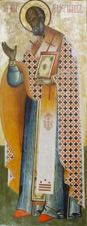 Saint Nicholas, Russian icon