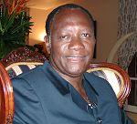 English: Alassane Ouattara, the former Prime M...