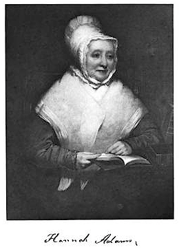 English: Hannah Adams, Athenaeum patron