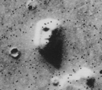 """The """"Face on Mars"""" was one of the most strikin..."""