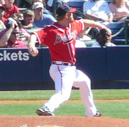 Blaine Boyer, a Major League Baseball player i...