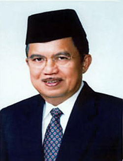 Jusuf Kalla, vice president of Indonesia.
