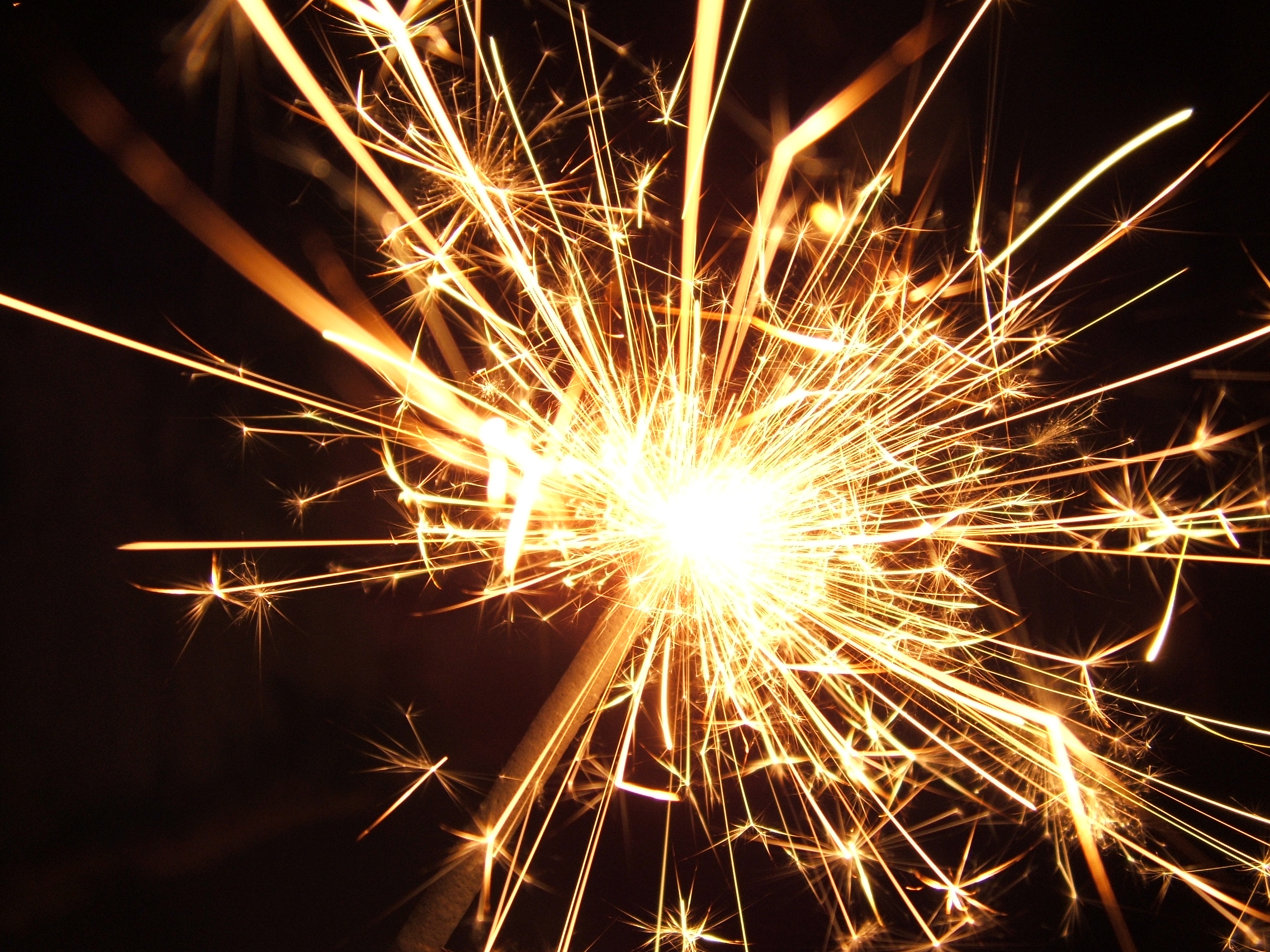 English: Sparkler, violent reaction (guy fawke...