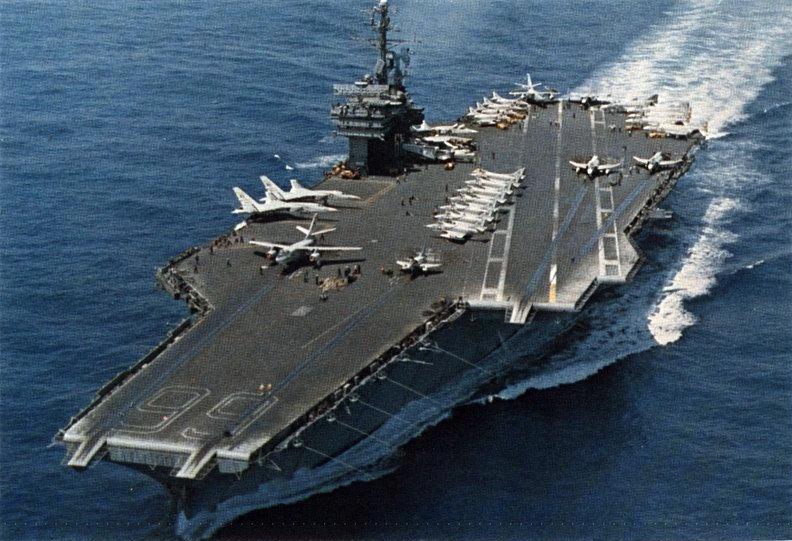 Cv Enterprise Uss Midway Uss 41 Uss Cv Sea 65 Cv Coral 43