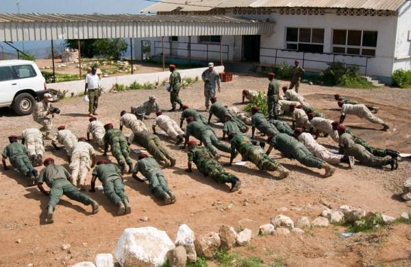 Army Training: Human Rights Training Army