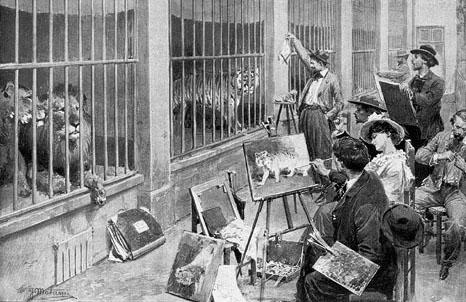 File:Animal artists at the Jardin des Plantes.jpg
