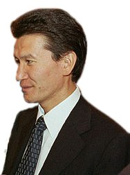 Kirsan Ilyumzhinov, a Russian businessman and ...