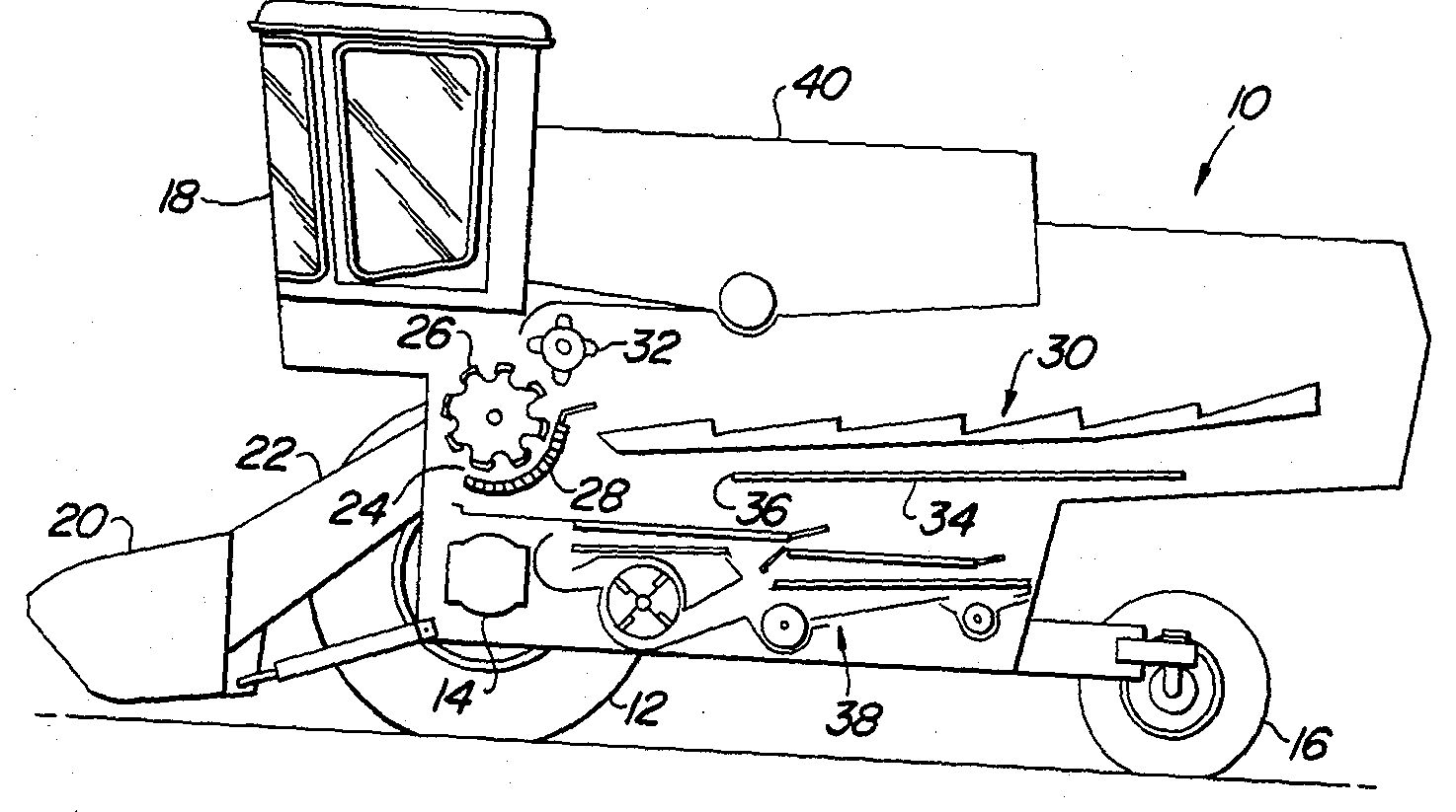 John Deere Combine Part Diagram