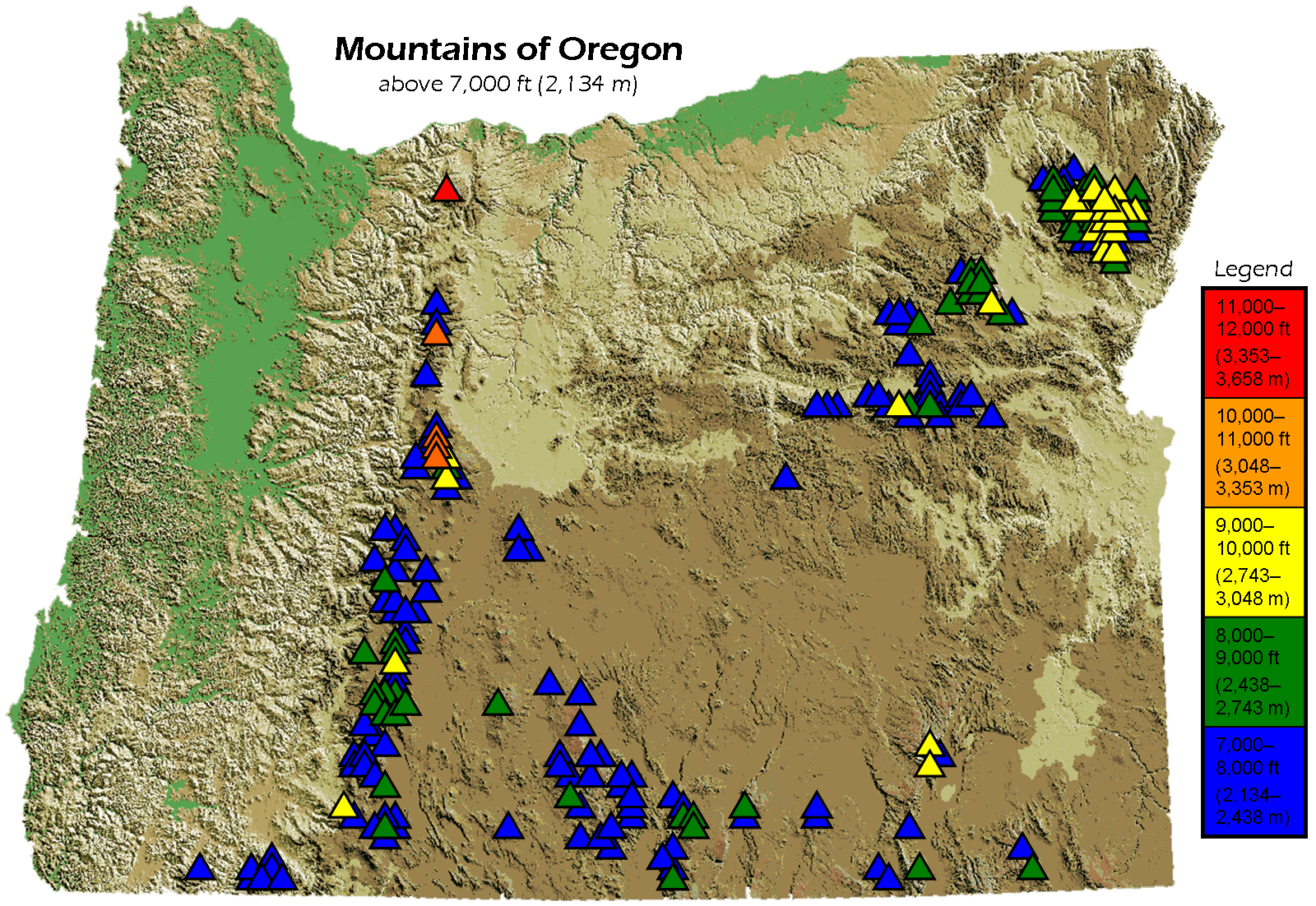 Advertisement map in oregon 4K Pictures