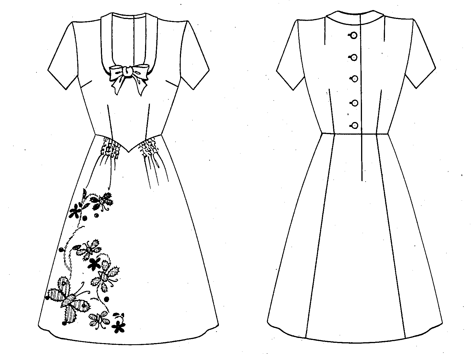 File Emily Wilkens Patent Drawing For A Dress With