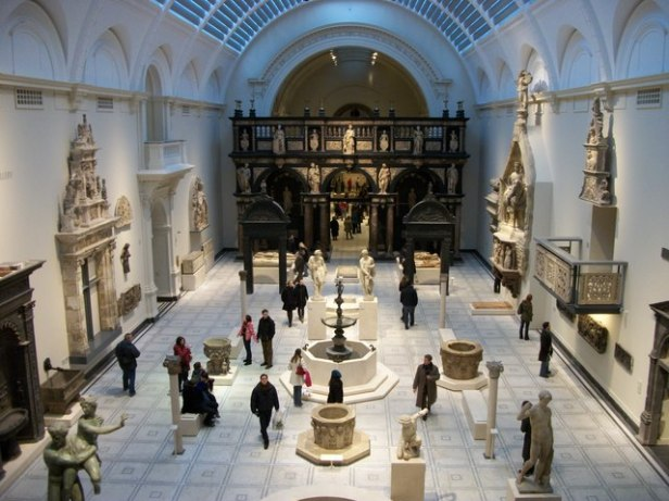 Medieval and Renaissance Galleries at the Victoria and Albert Museum - geograph.org.uk - 1651929