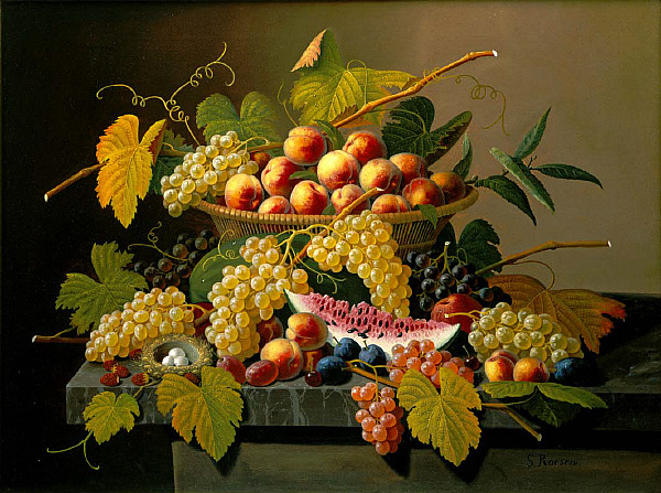 Still Life with a Basket of Fruit, Saint Louis Art Museum
