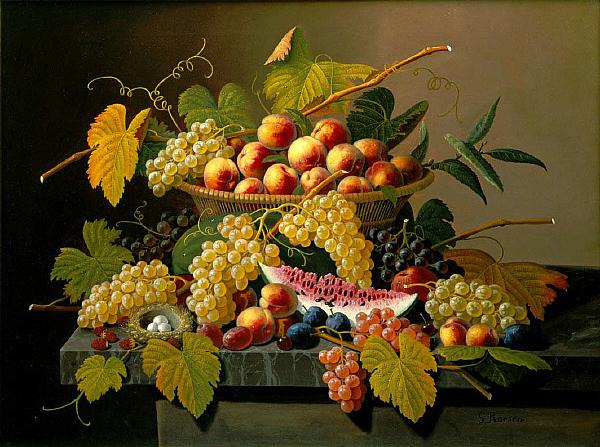 Still Life with a Basket of Fruit, Saint Louis Art Museum