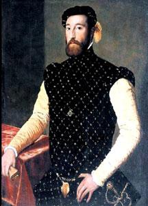 Español: Supuesto retrato de Garcilaso de la V...