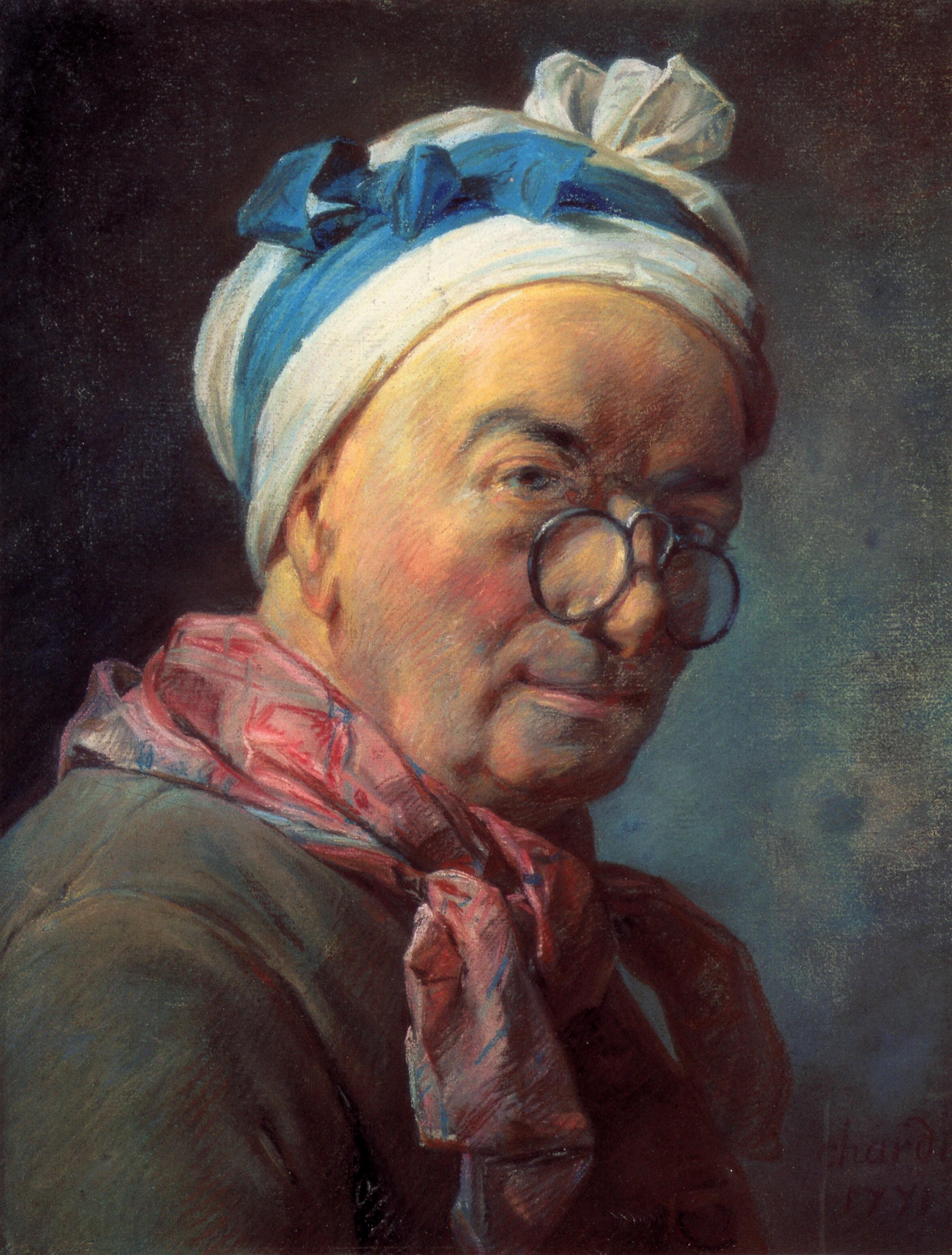 Шарден - автопортрет