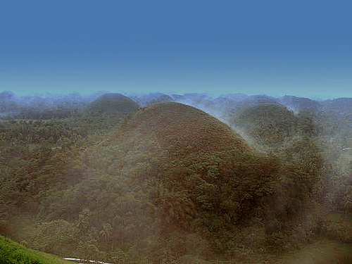 File:Fog Covers Chocolate Hills.png