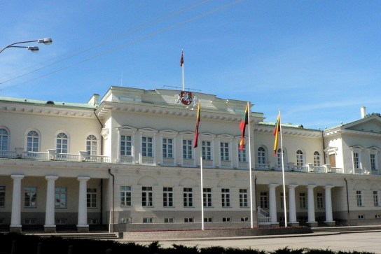 Image result for Presidential Palace, Vilnius, Lithuania