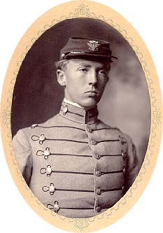 Patton at Virginia Military Institute