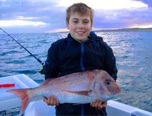 English: fish boy