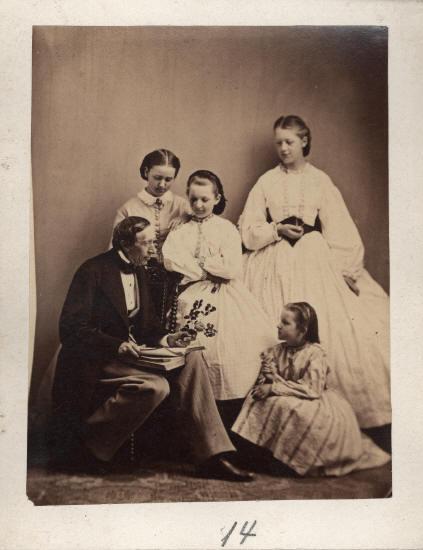 Hans Christian Andersen, 1863
