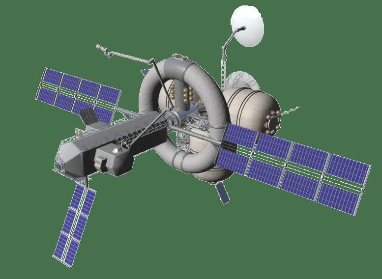 Nautilus-X. proposed multi-mission interplanetary spacecraft with centrifuge habitat
