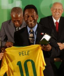 比利是巴西史上最多進球的球員