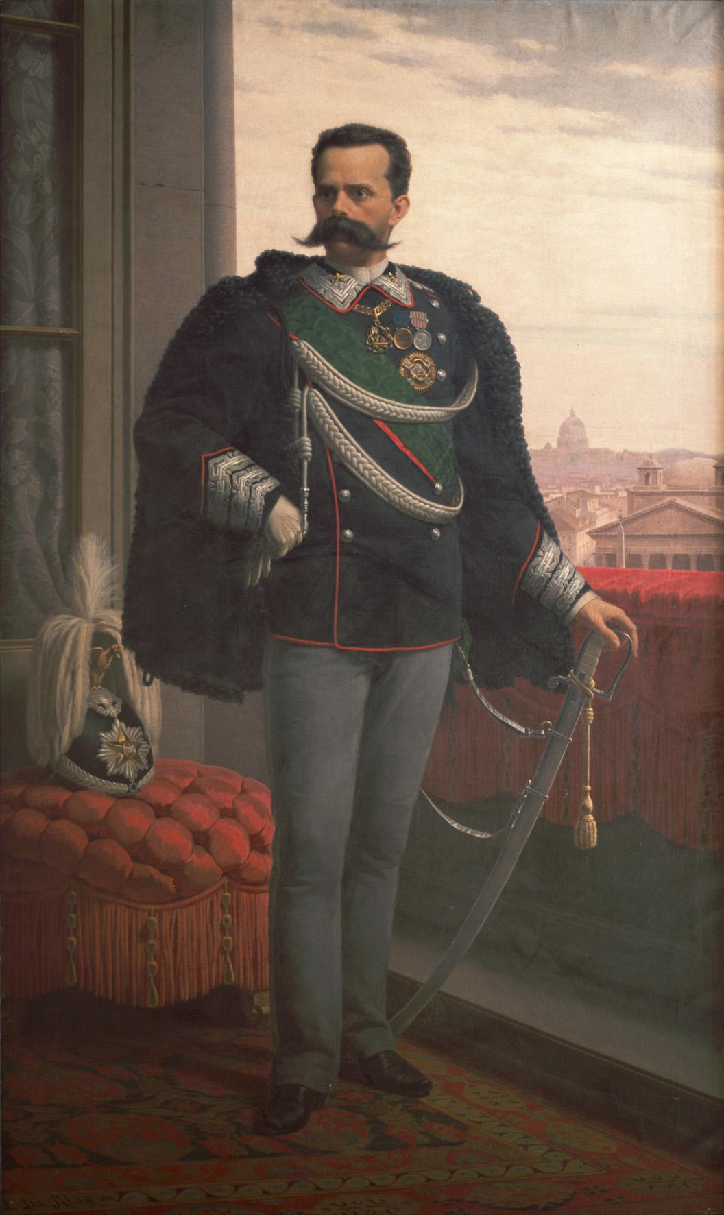 Portrait 19th Military Full Century