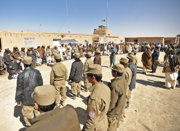 File:Afghan Local Police candidates and village elders in ...