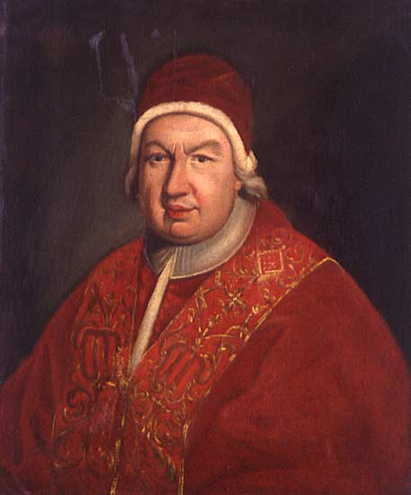 Pope Benedict XIV (1675-1758)