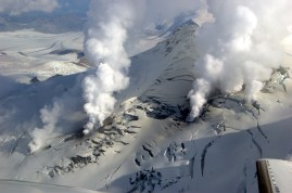 Image result for 2006 –Fourpeaked Mountain in Alaska erupts