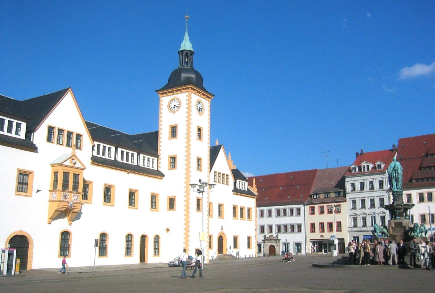 Freiberg, Rathaus, Quelle: Wikipedia