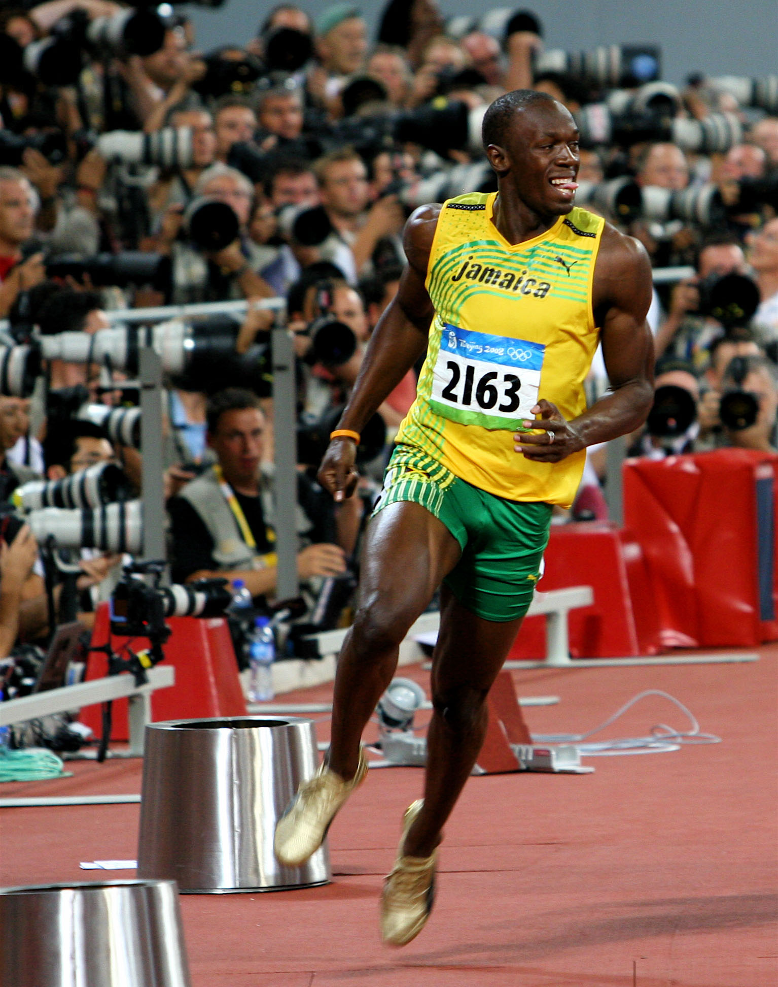 Usain Bolt fotografert av Richard Giles