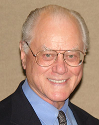 Larry Hagman, American film and television act...