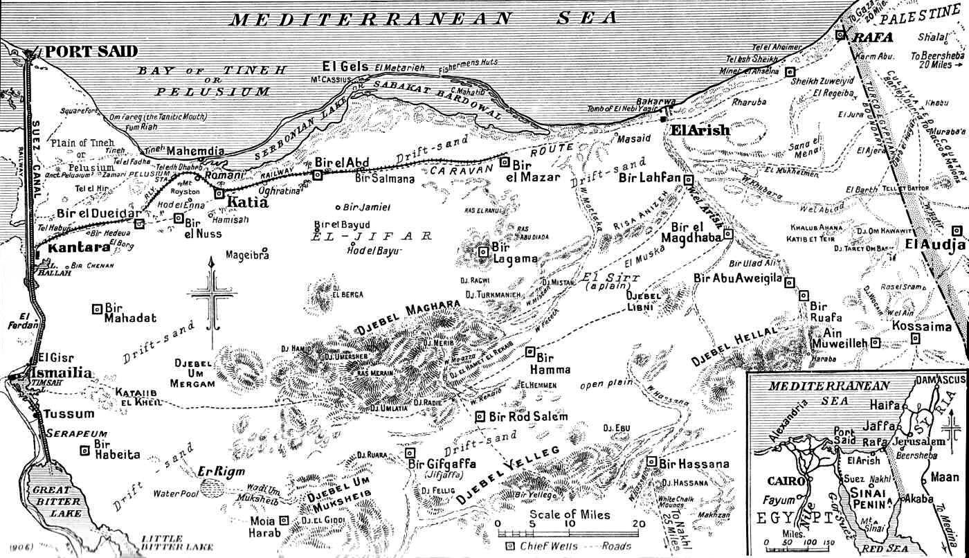 Sinai And Palestine Campaign
