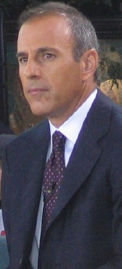 Cropped headshot of Matt Lauer