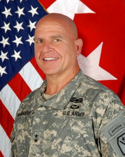 Photo of Major General HR McMaster Taken at his new duty station in June of 2012 Fort Benning, GA