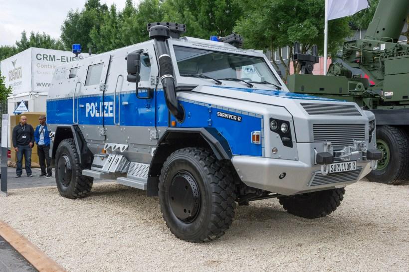 Polizeipanzer Survivor R von Rheinmetall-Defence