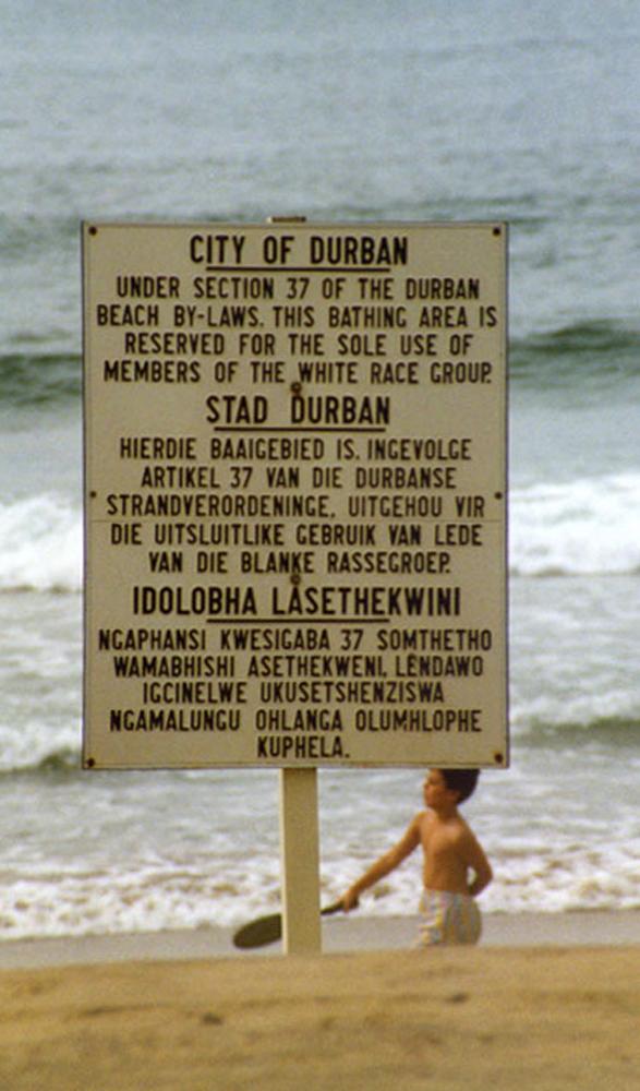 ...en tiempos del Apartheid