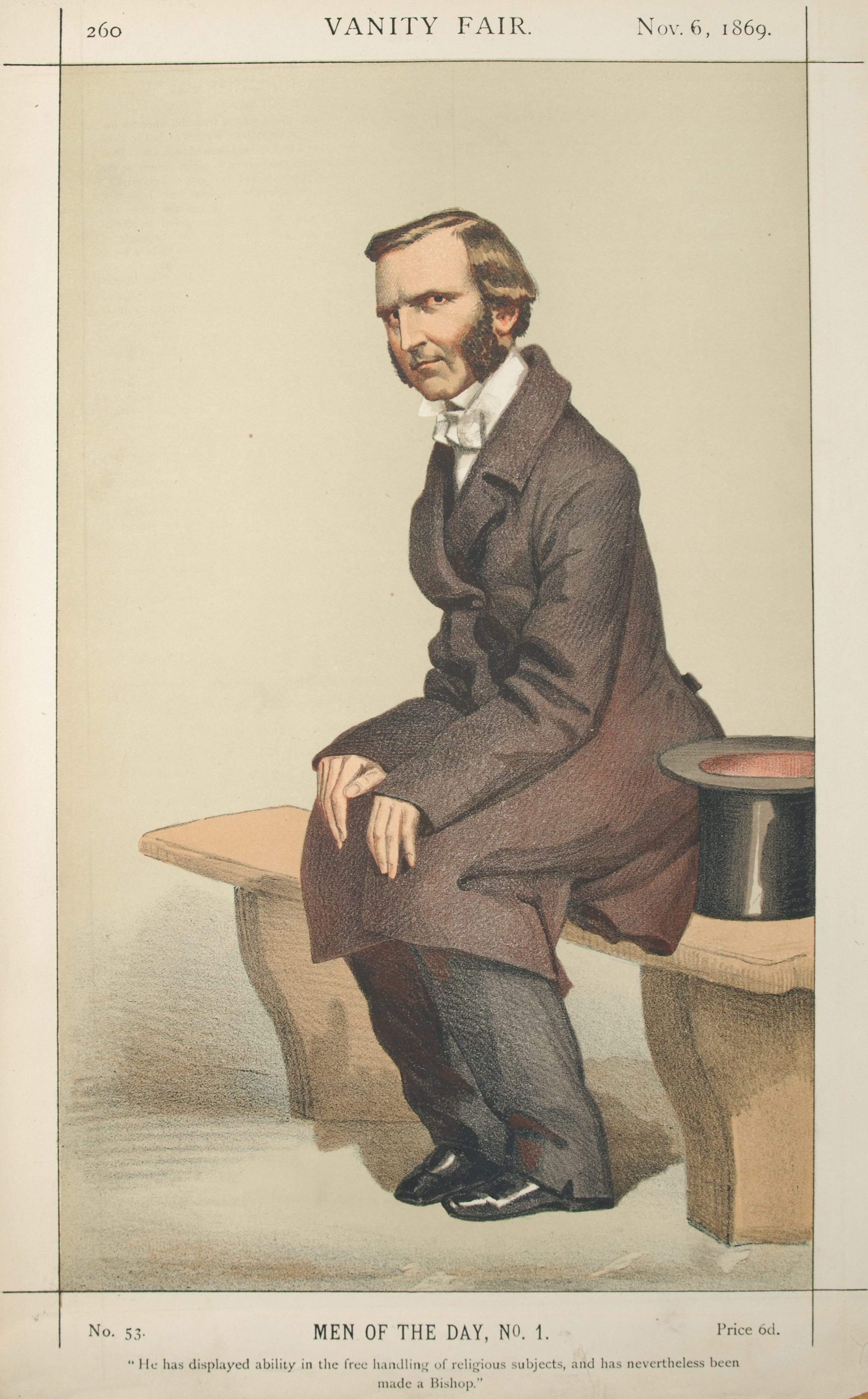 Men or Women of the Day No.1: Caricature of Th...