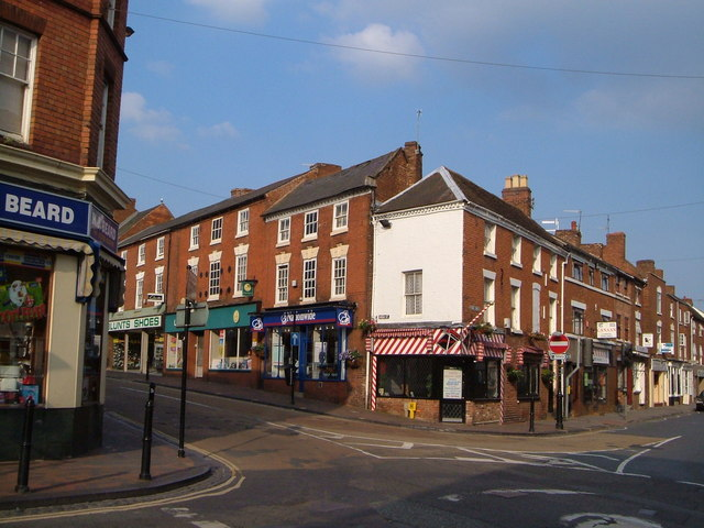 Photo of Junction of High Street and York Street, Stourport