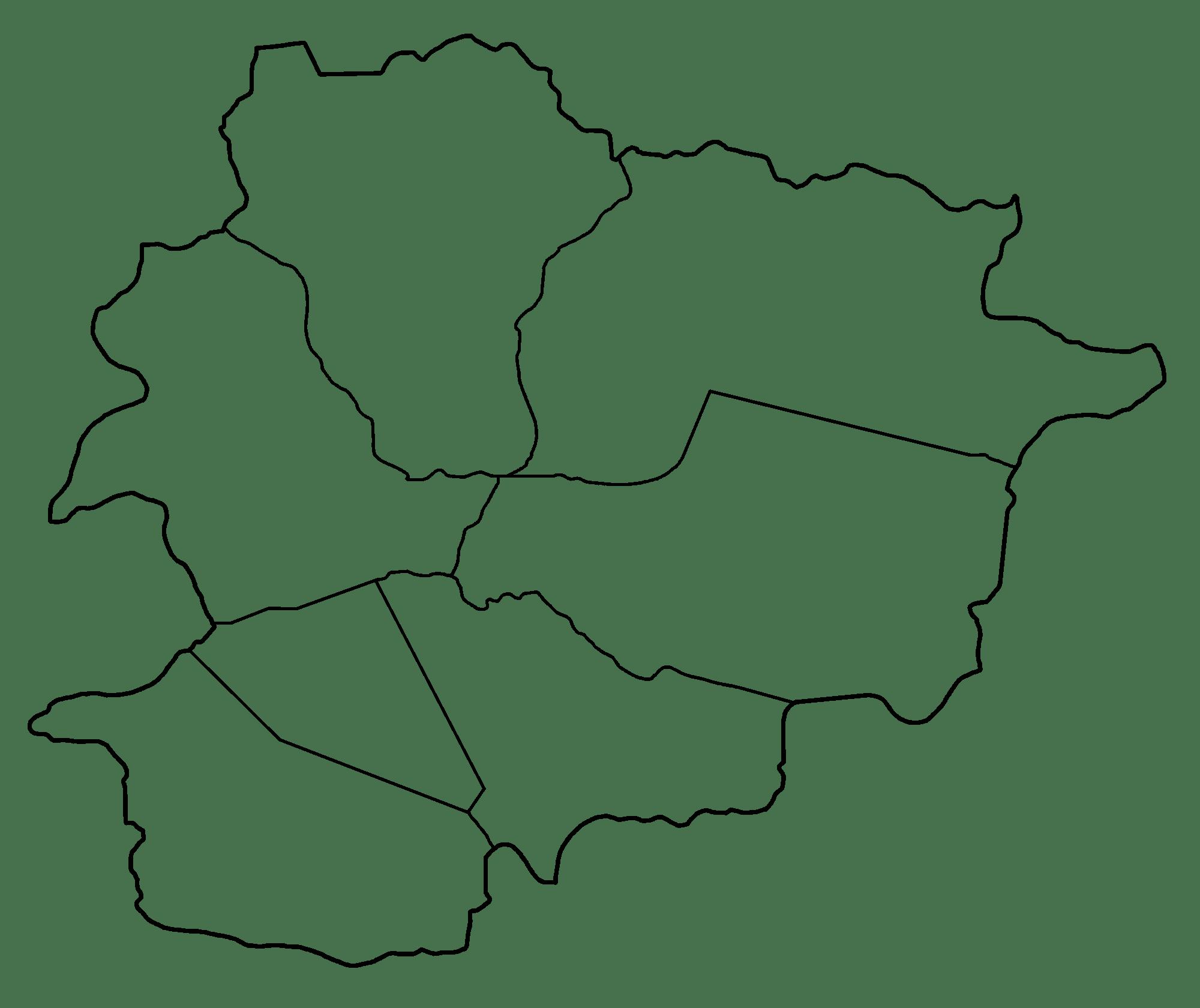 Andorra Blank Map